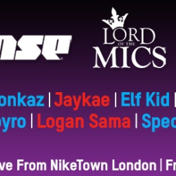 Rinse v Lord Of The Mics x Nike Football