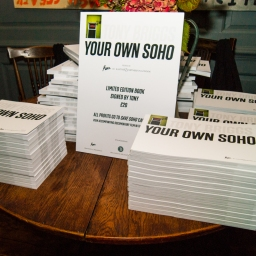 Your Own Soho x Roux Book Launch