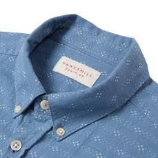 Hawskmill-Chambray Stripe Shirt 2