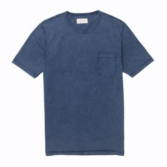 Hawskmill-Garment Dyed T Shirt