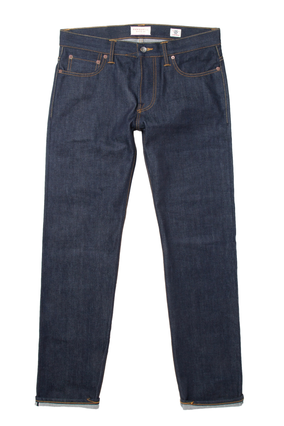 Hawskmill-Loose Tapered Cone Denim 1