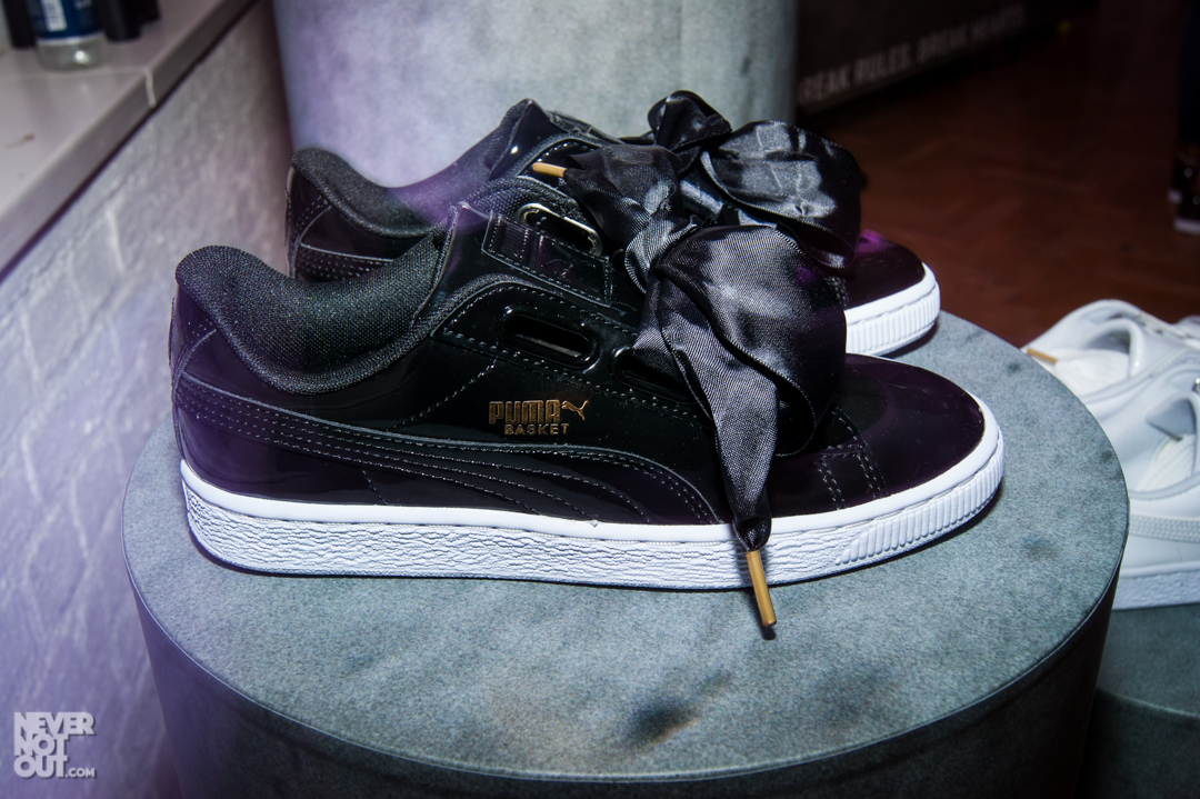 puma basket heart launch